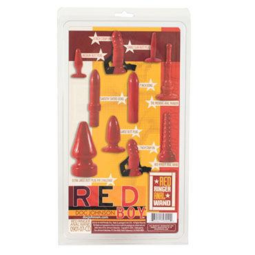 Doc Johnson Red Boy Анальная втулка в форме елочки
