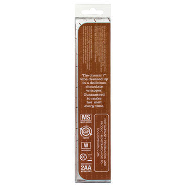 Doc Johnson Chocolates Водонепроницаемый вибратор