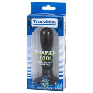 Doc Johnson Trainer Tool 14 см Анальный стимулятор с увеличенной головкой