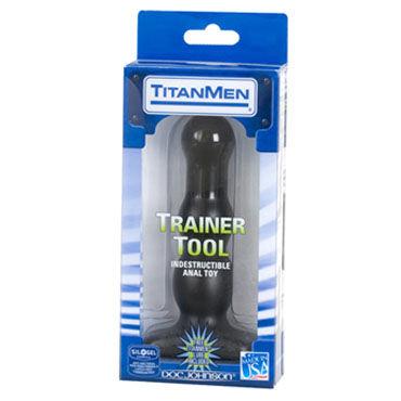 Doc Johnson Trainer Tool 14 см Анальный стимулятор с двумя степенями шероховатости