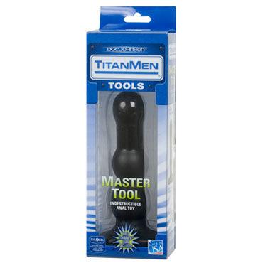 Doc Johnson Master Tool 18 см Анальный стимулятор с двумя степенями шероховатости