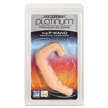 Doc Johnson The P-wand, телесный Стимулятор простаты анатомической формы