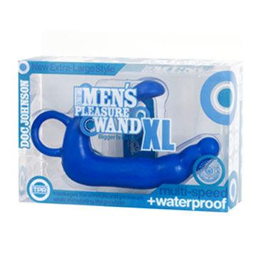 Doc Johnson Mens Pleasure XL голубой Стимулятор простаты большого размера