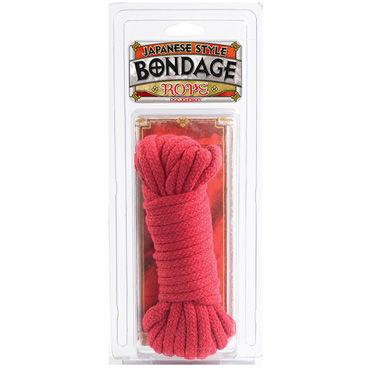 Doc Johnson Rope, красный Бондаж для связывания