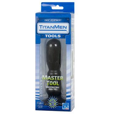 Doc Johnson Master Tool 18 см Анальный стимулятор с увеличенной головкой
