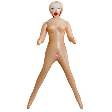 Doc Johnson Sunrise Надувная кукла с тремя отверстиями