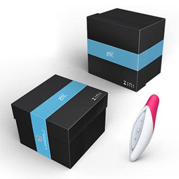 Zini Seed, бело-розовый Компактный вибромассажер