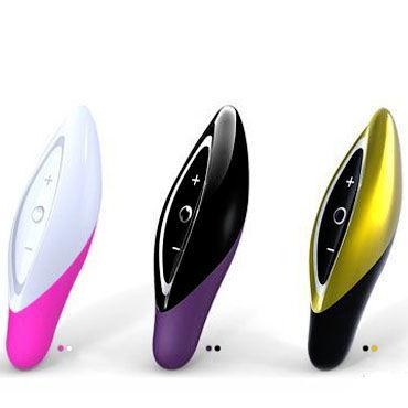 Zini Seed, черно-фиолетовый Компактный вибромассажер