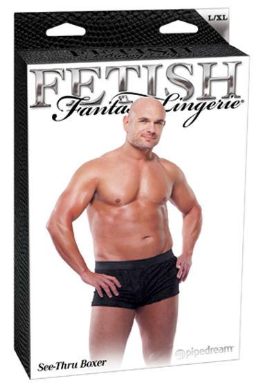 Fetish Fantasy See-Thru Boxer Ажурные, с эластичным поясом