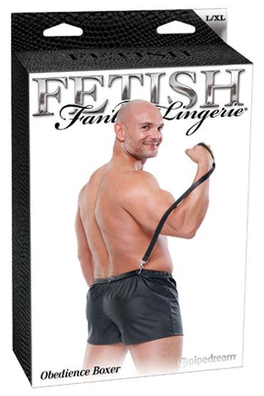 Fetish Fantasy Obedience Boxer Боксеры с поводком