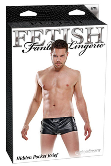 Fetish Fantasy Hidden Pocket Brief Хипсы с кармашком