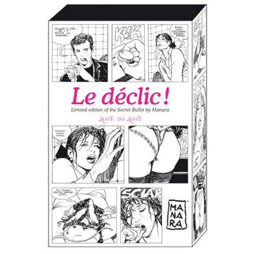 Love To Love Le Declic By Manara Красивое вибро-яйцо, 10 режимов работы