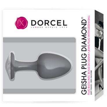 Marc Dorcel Geisha Plug Diamond Анальная пробка с белым кристаллом