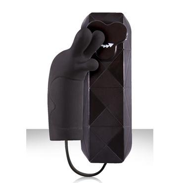 NS Novelties Trois, черный Стильный клиторальный вибратор