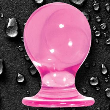 NS Novelties Orbite, розовый Анальная пробка на присоске, большая