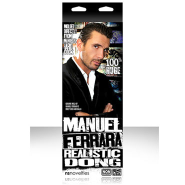 NS Novelties Manuel Ferrara 8'', �������������-��������� �� ��������