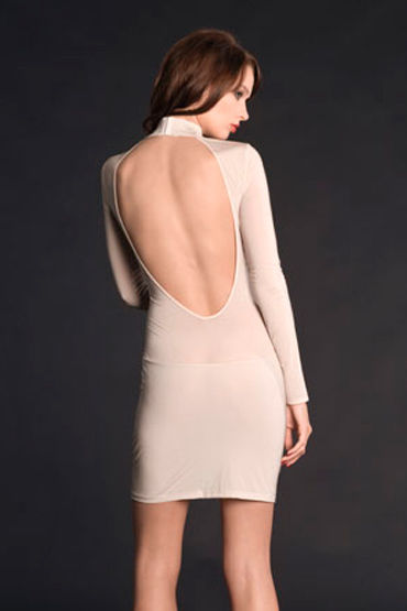 Maison Close, ночная сорочка Exquise Allure Mini Robe С длинными рукавами