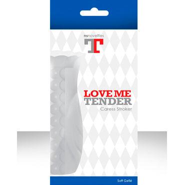 NS Novelties мастурбатор текстурированный Love me tender Caress Супер мягкий