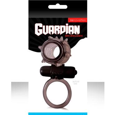 NS Novelties эрекционное виброкольцо Guardian С петлей для мошонки