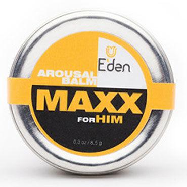 Eden Maxx, 8,5мл Возбуждающий бальзам для мужчин
