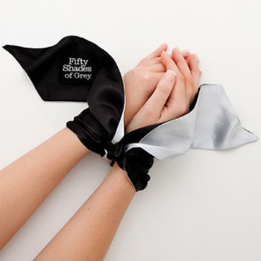 Fifty Shades of Grey Satin Restraint Wrist Tie Широкая лента для фиксации