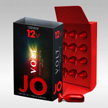 System JO Volt 12V, 12х4,32мг Мощная возбуждающая сыворотка для женщин