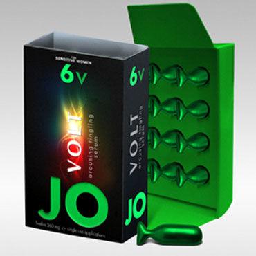 System JO Volt 6V, 12х4,32мг Возбуждающая сыворотка для женщин с мягким воздействием