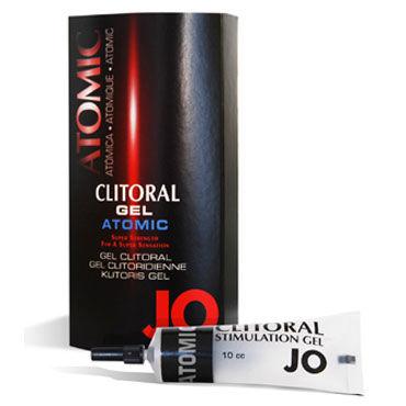 System JO Clitoral Gel Atomic, 10мл Мощный возбуждающий гель для клитора