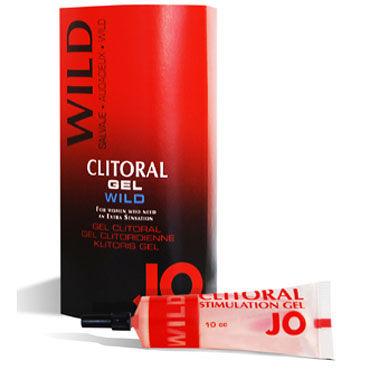 System JO Clitoral Gel Wild, 10мл, Сильный возбуждающий гель для клитора