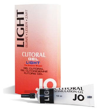 System JO Clitoral Gel Light, 16мл Возбуждающий гель для клитора с легкой степенью воздействия