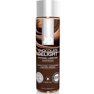 System JO Flavored Chocolate Delight, 120 мл Лубрикант на водной основе с ароматом шоколада