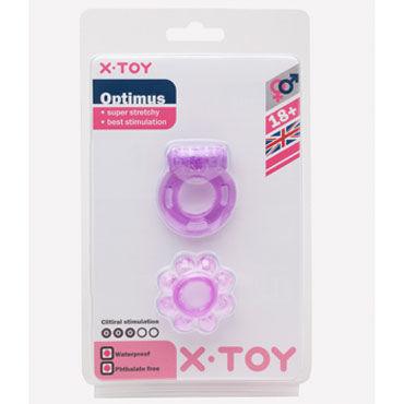 X-Toy Optimus, фиолетовый Набор эрекционных колец