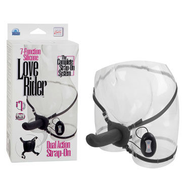 California Exotic Love Rider Dual Action Strap-On, ������, ������� ������� � ����������
