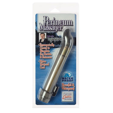 California Exotic Dr. Joel Kaplan Perineum Massager, 17 см Вибромассажер простаты