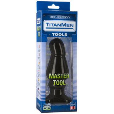 Doc Johnson Titanmen Master Tool # 5 Анальная пробка анатомической формы