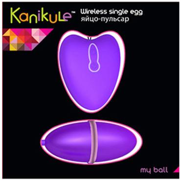 Kanikule My Ball, фиолетовый Яйцо-пульсар с пультом управления