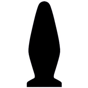 Kanikule My Toy Medium, черный Анальная пробка с вибрацией