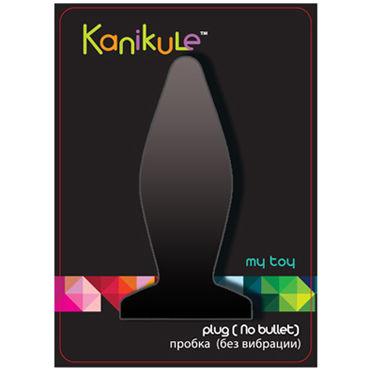 Kanikule My Toy Small, черный Анальная пробка с присоской