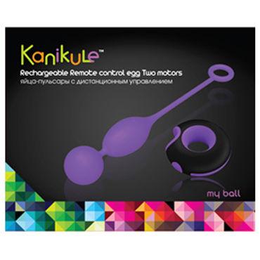 Kanikule виброяйцо С двумя виброэлементами