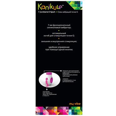 Kanikule вибратор С рельефной поверхностью