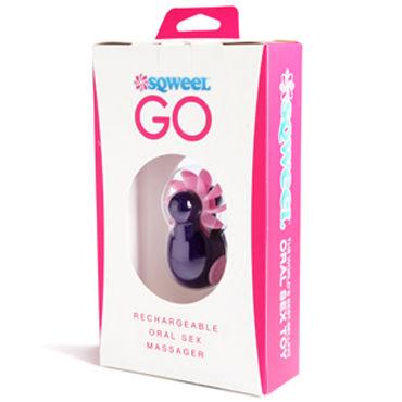 Sqweel Go Purple Карманный клиторальный стимулятор