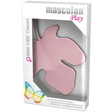 Masculan Mini Vibe Classic, светло-розовый Стимулятор клитора в виде листочка