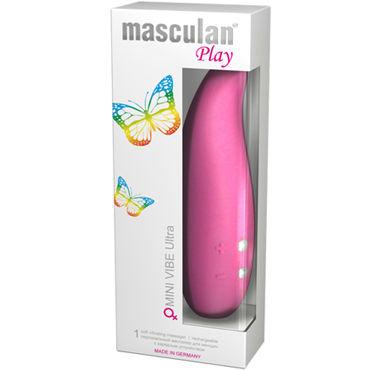 Masculan Mini Vibe Ultra, розовый Небольшой водонепроницаемый вибратор