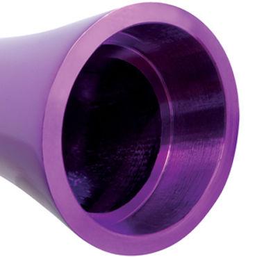 Pipedream Pure Aluminium Purple Small Эксклюзивный вибратор небольшого размера
