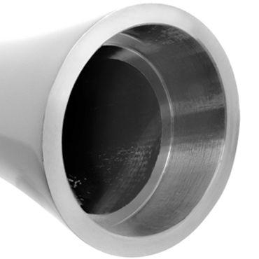 Pipedream Pure Aluminium Silver Small Эксклюзивный вибратор небольшого размера