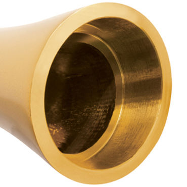 Pipedream Pure Aluminium Gold Small Эксклюзивный вибратор небольшого размера