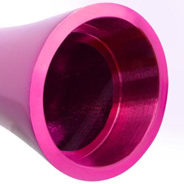 Pipedream Pure Aluminium Pink Medium Эксклюзивный вибратор среднего размера