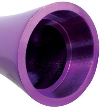 Pipedream Pure Aluminium Purple Medium Эксклюзивный вибратор среднего размера