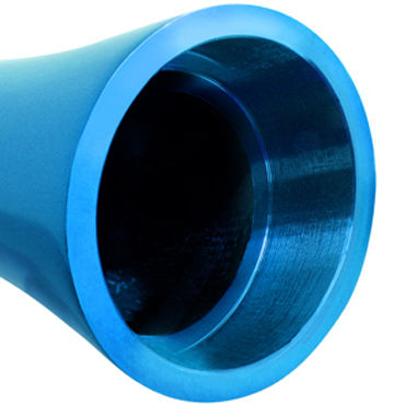 Pipedream Pure Aluminium Blue Medium Эксклюзивный вибратор среднего размера