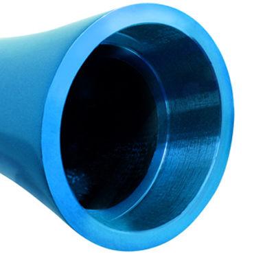 Pipedream Pure Aluminium Blue Large Эксклюзивный вибратор большого размера